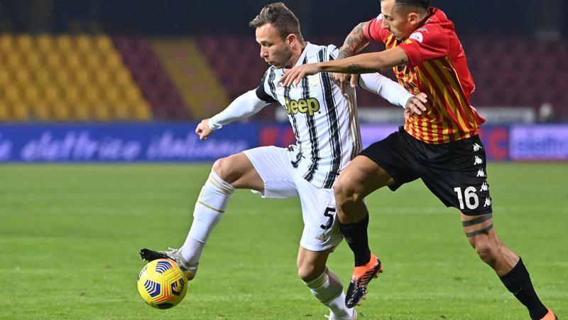 Benevento-Juve, le pagelle: Letizia e Szczesny i migliori, 7. Delude Arthur: 5