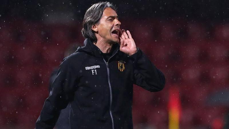 Benevento,<br /> Inzaghi: Il gol preso non � da noi. Futuro? Ingeneroso parlarne