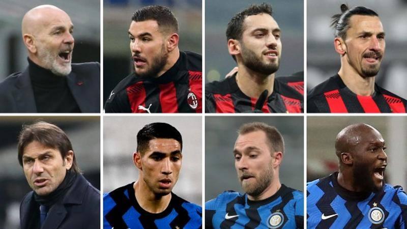 Bomber colossi,<br /> ali infuocate,<br /> genio in mezzo: Milan e Inter,<br /> servono i superpoteri