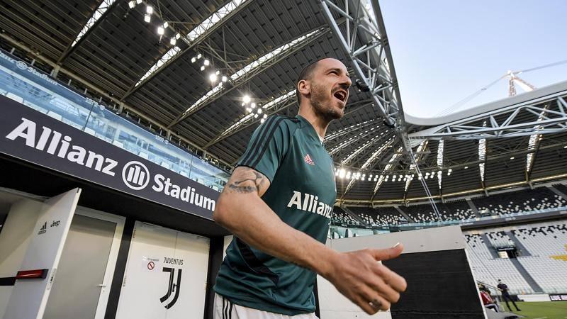 Bonucci: 'La Juve c'�,<br /> Ronaldo super atleta. E che sorpresa Sarri... � unico'