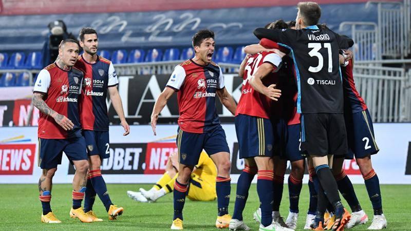 Cagliari-Parma,<br /> le pagelle: Cerri,<br /> colpo di testa da 7; Kurtic disastro,<br /> 4,<br />5