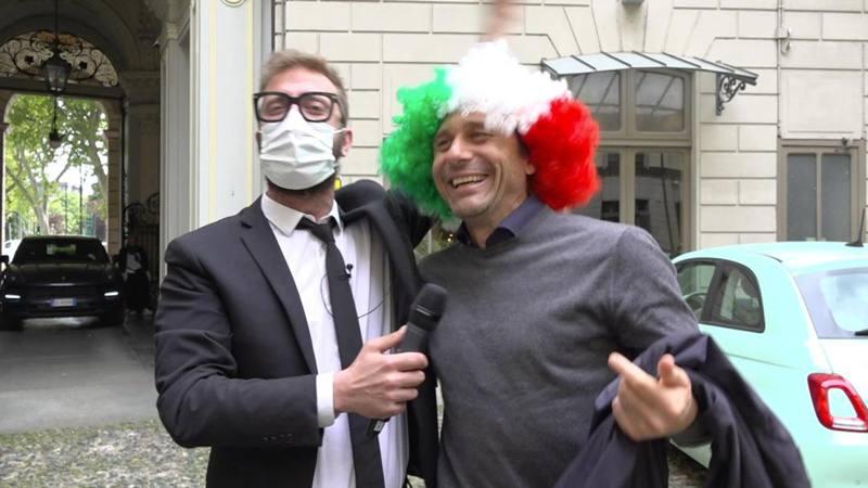 Conte tricolore: Spero che Mou faccia bene,<br /> ma non contro l'Inter