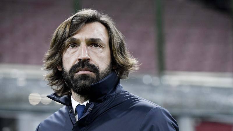 Derby d'Italia,<br /> Pirlo rischia pi� di Conte: lo aspetta la Champions...