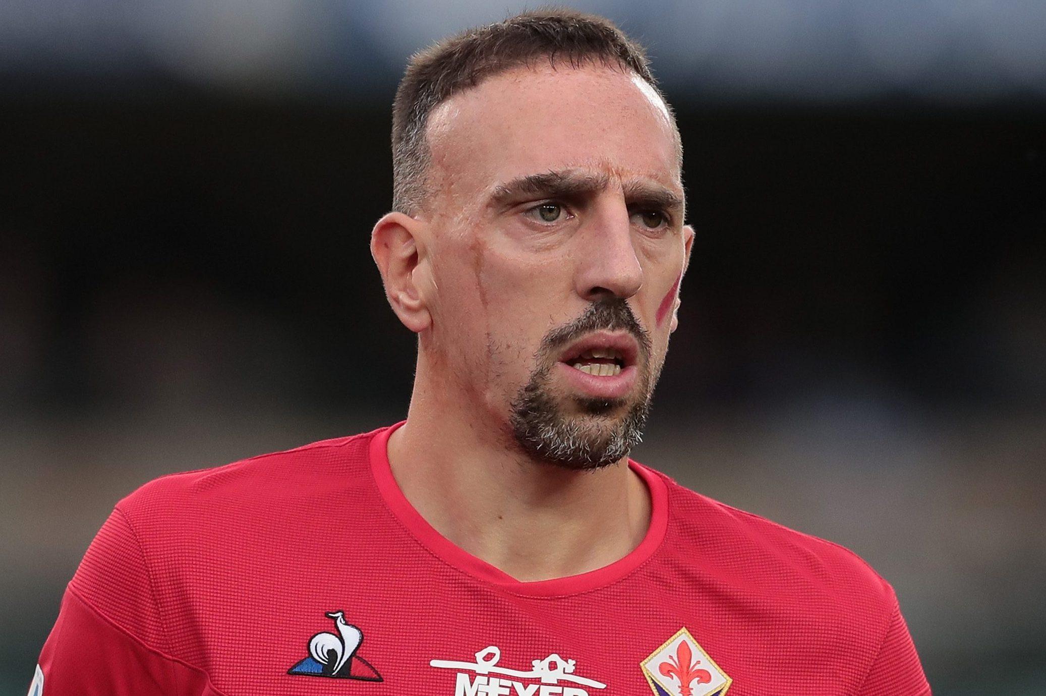 Fiorentina-Lucchese 5-0, Ribery incanta e segna una doppietta