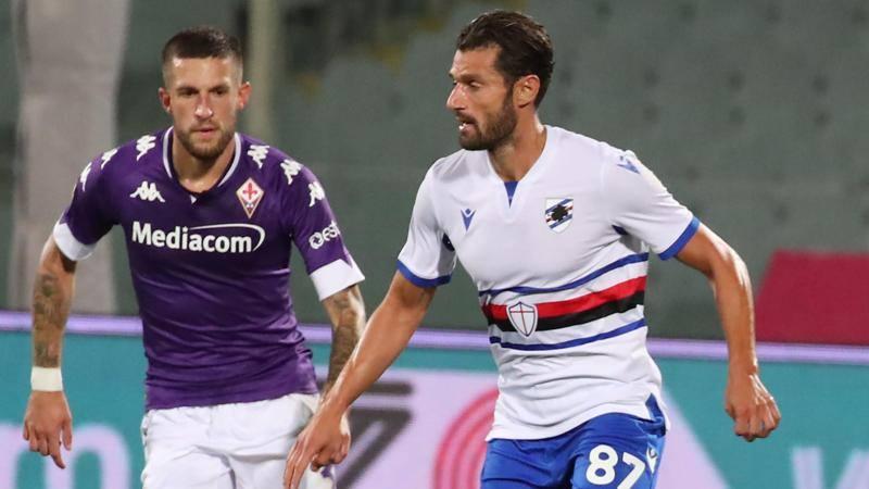 Fiorentina-Samp, le pagelle: Candreva ara la fascia, 7,5. Ceccherini, errore fatale: 4,5