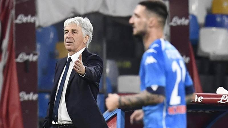 Gasperini: Buona gara,<br /> il Napoli � una squadra di valore