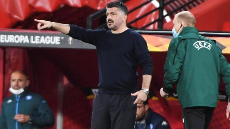 Gattuso: Risultato bugiardo,<br /> ma dove vado con 10 giocatori contati?