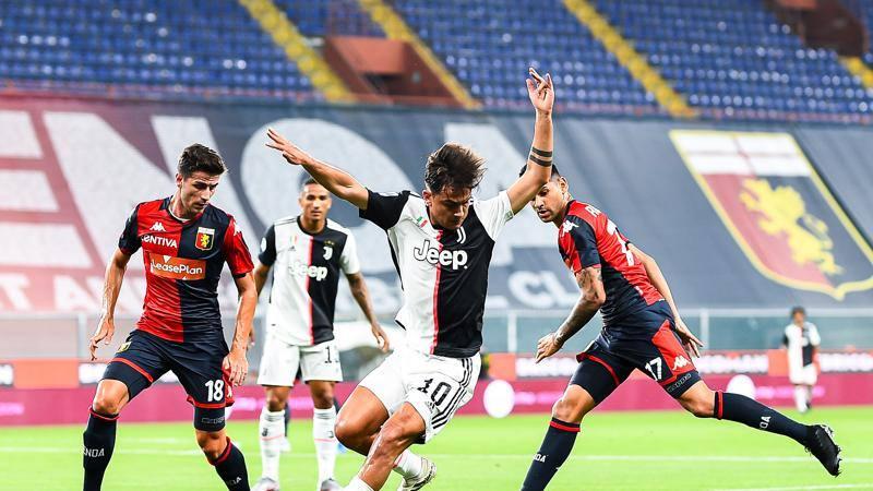 Genoa-Juventus, le pagelle: Dybala illumina (8), CR7 pure (7.5). Masiello non c?� (4.5)