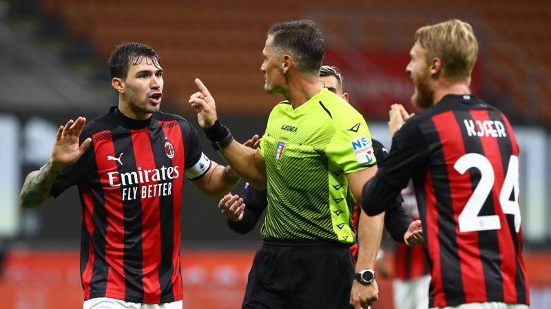Giacomelli fermato: almeno due turni di stop all'arbitro di Milan-Roma