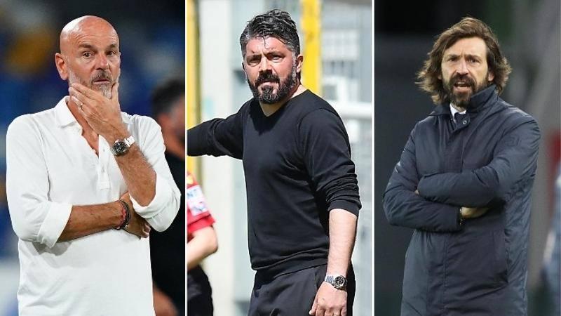 Il borsino della volata Champions: chi sta meglio tra Milan,<br /> Juve e Napoli?