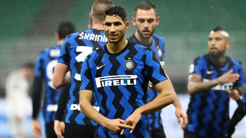 Inter-Bologna,<br /> le pagelle: Hakimi esplosivo,<br /> � da 8. Sanchez impreciso: 5,<br />5