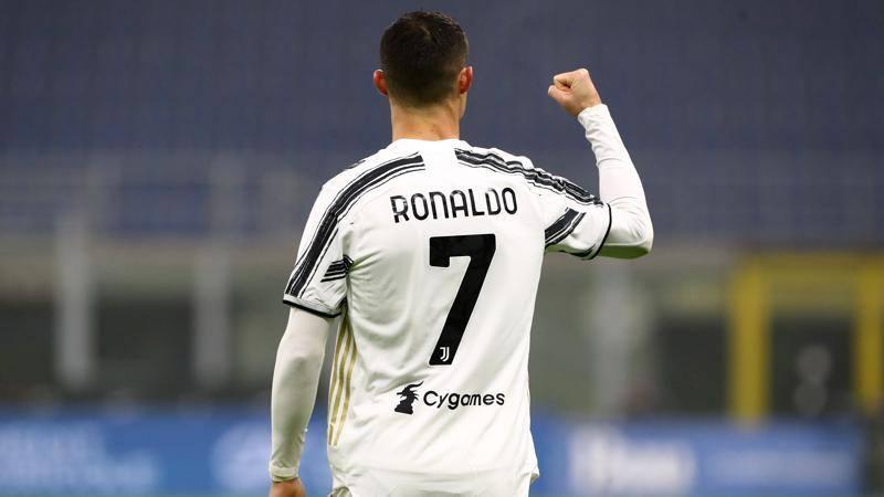 Inter-Juventus,<br /> le pagelle: Lautaro suona la carica,<br /> 6,<br />5. Ronaldo,<br /> che lezione 7,<br />5