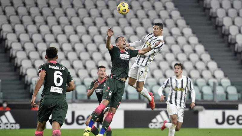 Juve-Crotone,<br /> le pagelle: Ronaldo magistrale,<br /> 8. Luperto disastroso: 4,<br />5