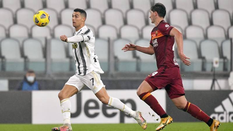 Juve-Roma,<br /> le pagelle: CR7 uomo dei momenti chiave,<br /> 7,<br />5. Kumbulla,<br /> dolori di crescita: 5