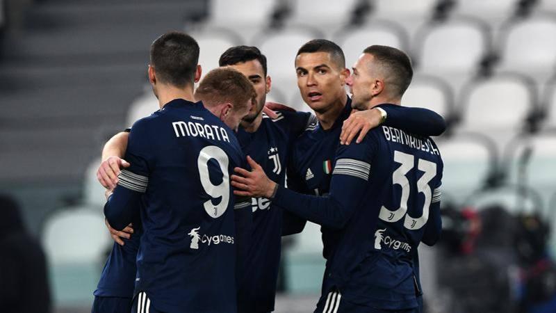 Juve-Sassuolo,<br /> le pagelle: il gol regala il 6 a Ronaldo. Traore a tutto campo: 7