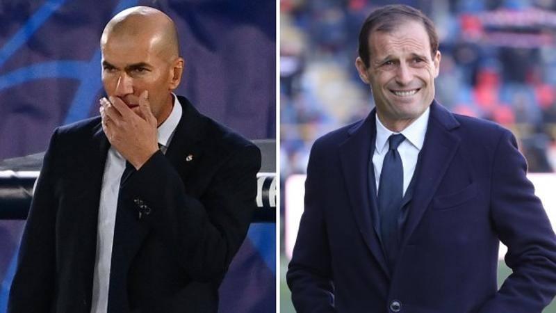 Juve in pressing su Zidane! E per Allegri c'� un biennale col Real Madrid