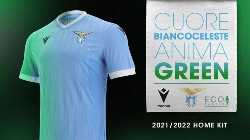 La nuova maglia della Lazio sar� green