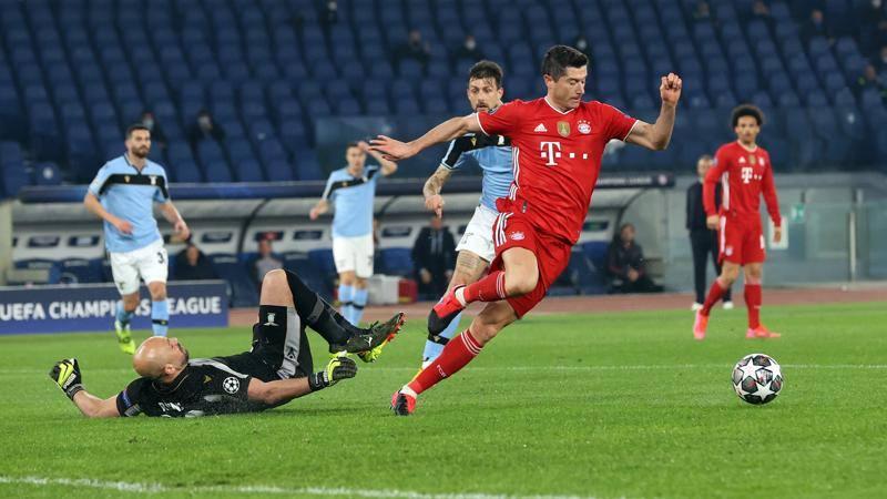 Lazio-Bayern,<br /> le pagelle: Patric-Musacchio,<br /> orrori da 4! Lewa,<br /> San� e Musiala da 7,<br />5