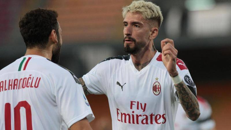Lecce-Milan, Calha � ovunque e merita 8. Bene Jack e Theo: 7 e 6.5. Nel Lecce solo Babakar