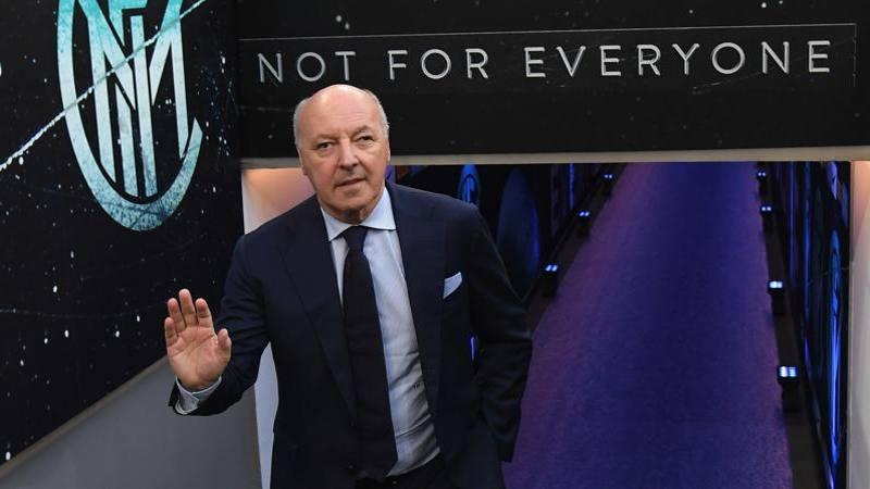 Marotta: Sono ottimista sul futuro dell?Inter. Felice di prolungare il contratto
