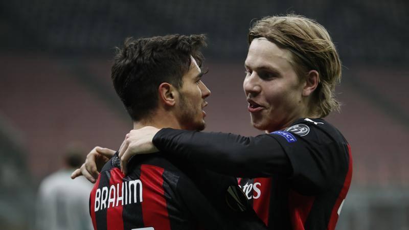 Milan-Celtic,<br /> le pagelle: super Hauge,<br /> 7,<br />5! Disastro Krunic,<br /> 4