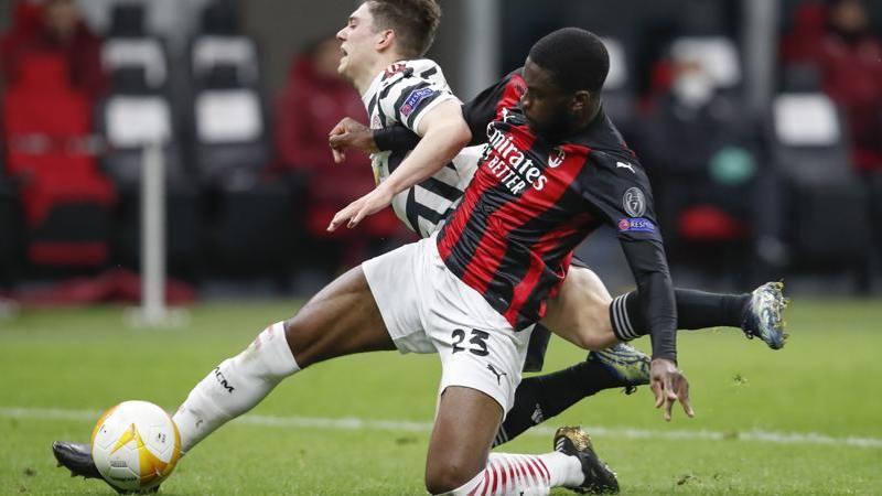Milan-United,<br /> le pagelle: Tomori non tradisce,<br /> � da 6,<br />5. Calha mai pericoloso: 5