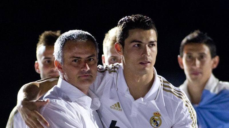 Mou scherza con Ronaldo: Vai via dall?Italia e lasciami in pace