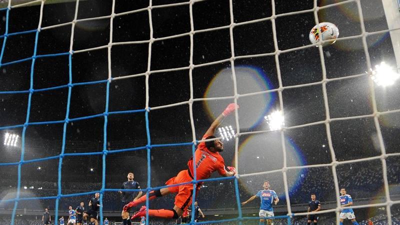 Napoli-Lazio, le pagelle: Fabian Ruiz, un?altra perla, 6,5. Luis Alberto poco ispirato: 5