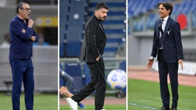 Panchine,<br /> Sarri apre la giostra Roma,<br /> casting Napoli: Lazio-Inzaghi,<br /> voi che fate?