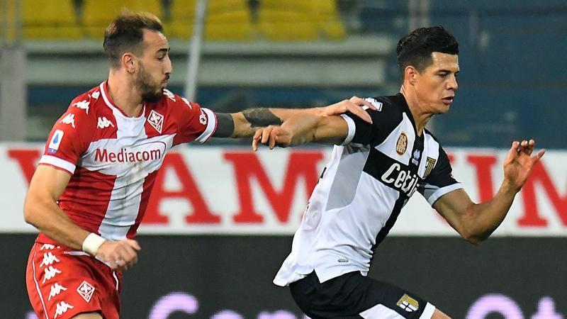 Parma-Fiorentina,<br /> le pagelle: Osorio,<br /> esordio da 6,<br />5. Male Kouame,<br /> 5