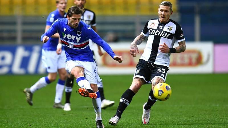 Parma-Samp,<br /> le pagelle: Kucka non si arrende: 6,<br />5. Silva,<br /> regia perfetta: 7