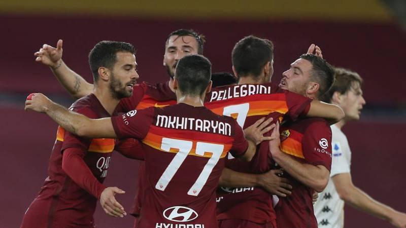 Roma-Benevento, le pagelle: Pedro-Mkhitaryan, classe da 7. Bravi Cristante e Dabo in mezzo: 6,5