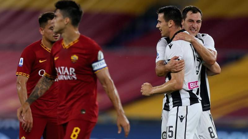 Roma-Udinese, le pagelle: Lasagna  � una furia, 7! Fazio � una 'lumaca': 4,5