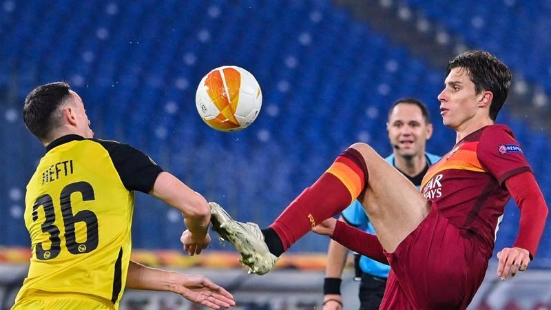 Roma-Young Boys,<br /> le pagelle: super Calafiori: 7,<br />5! Perez sempre in partita,<br /> 7