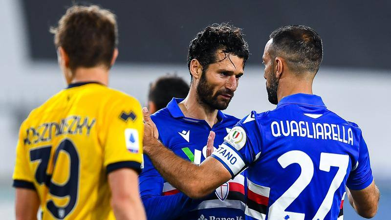 Sampdoria-Parma,<br /> le pagelle: Candreva inventa,<br /> 7. Gervinho-Pell� assenti: 5.