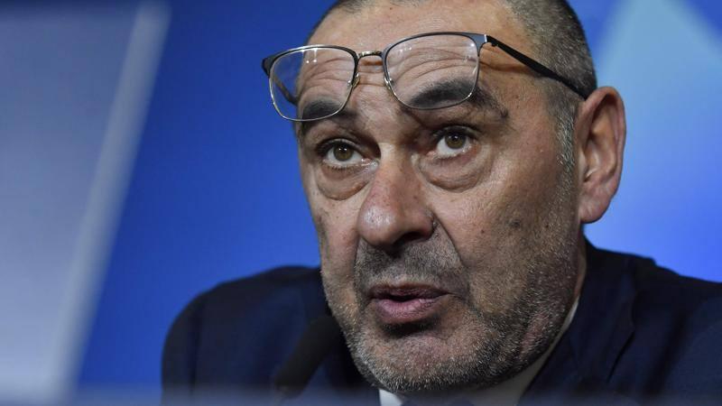 Sarri: I nostri tifosi hanno diritto di essere a Lione. Rabiot? Anche Platini fece fatica...