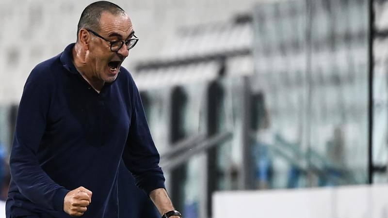 Sarri non si fida: 'Ancora 4 punti. Resto alla Juve? C'� il contratto...'