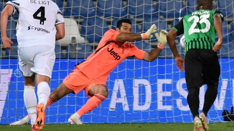 Sassuolo-Juve,<br /> le pagelle: l'ultima rivincita di Gigi,<br /> 7. Raspadori � il futuro (7,<br />5)