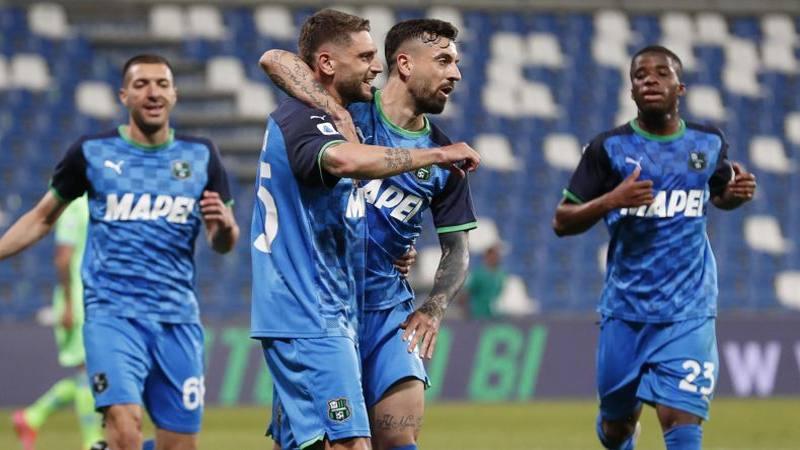 Sassuolo-Lazio,<br /> le pagelle: Berardi chiude in bellezza,<br /> da 7. Si salva Marusic: 6