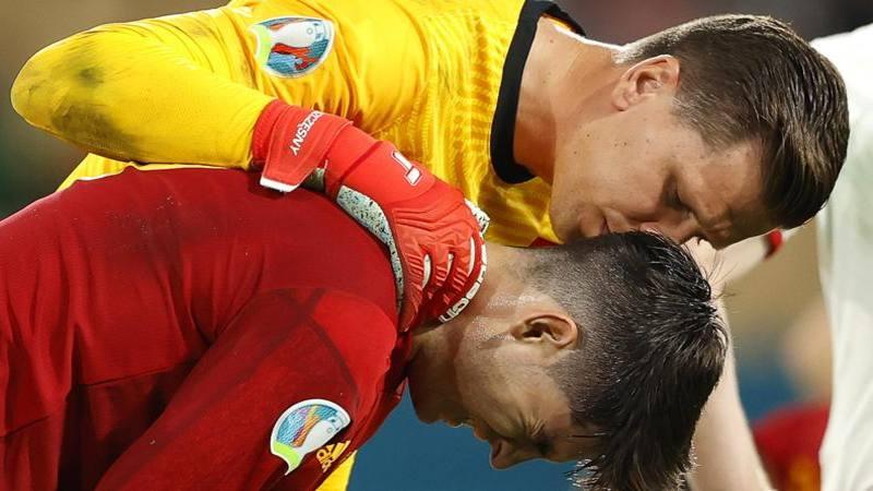 Spagna-Polonia sa di Juve: Morata segna a Szczesny,<br /> ma gli umori sono differenti