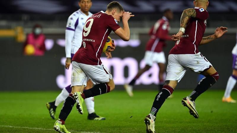 Torino-Fiorentina,<br /> le pagelle: Belotti (6,<br />5) trova il guizzo. Milenkovic ingenuo: 5