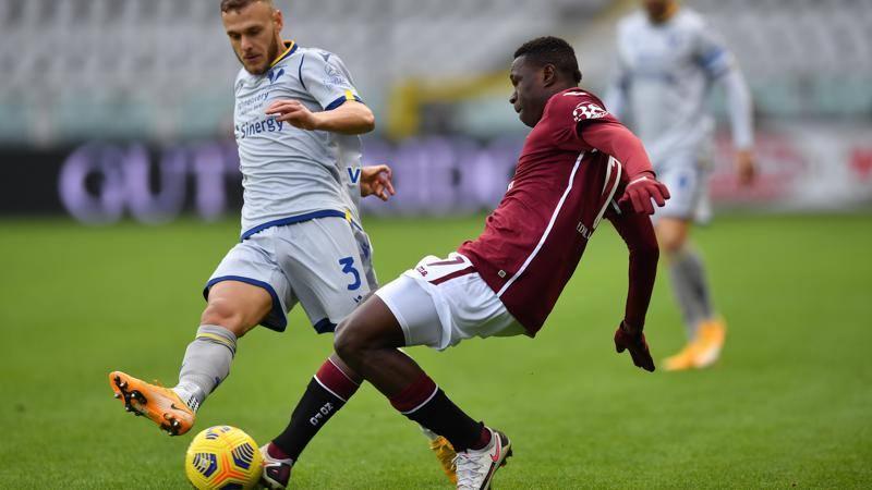 Torino-Verona,<br /> le pagelle: Rincon da battaglia,<br /> 7. Dimarco alla Totti: 8
