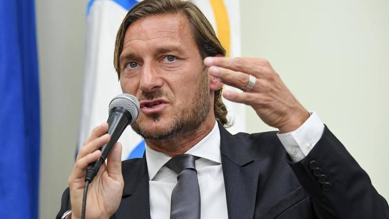 Totti: Monchi leale,<br /> ma dava fiducia agli egoisti. La Lazio? Non esiste