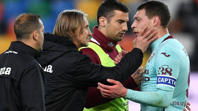 Udinese-Torino,<br /> le pagelle: Arslan regala il rigore,<br /> 4,<br />5. Che freddezza Belotti: 7