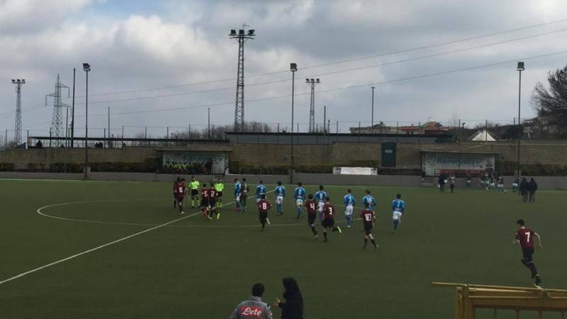Under 16: stop del Perugia a Lecce,<br /> Napoli secondo da solo nel girone C