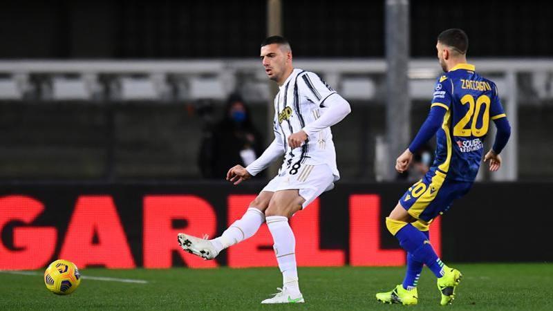Verona-Juve,<br /> le pagelle: Demiral troppi errori: 5. Lazovic entra e cambia la gara: 7