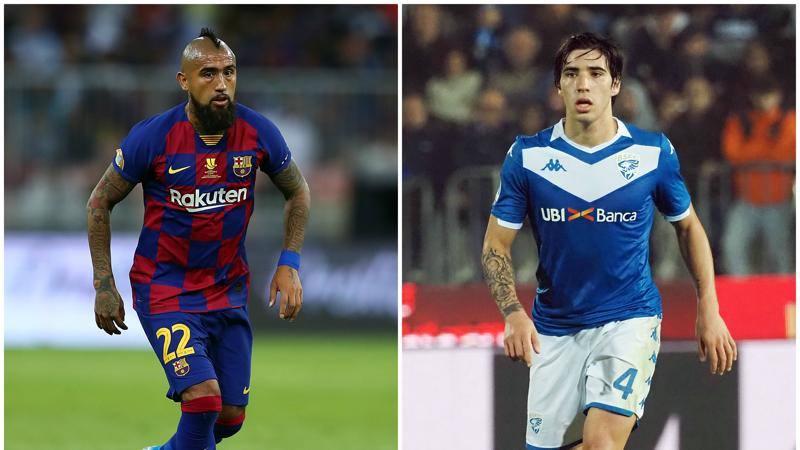 Vidal + Tonali, operazione scudetto: l'Inter punta all'accoppiata