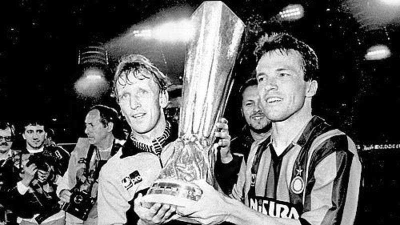 Brehme spinge l'Inter: '� favorita con il Bayer. Alzare la coppa si pu�'