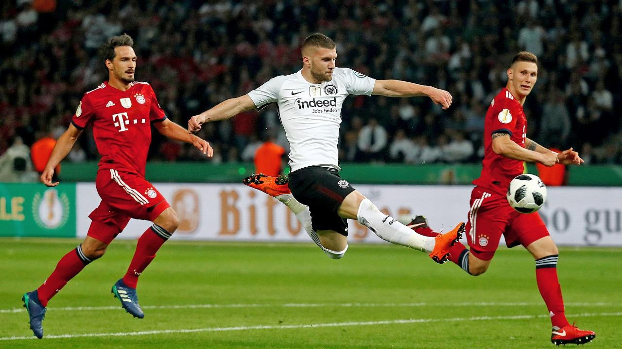 Bayern Monaco Eintracht Francoforte