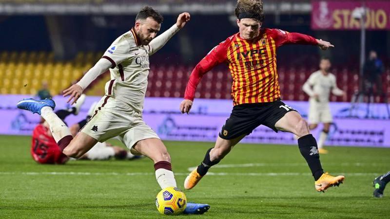 Benevento-Roma,<br /> le pagelle: Caldirola salva un gol e merita 6,<br />5. Mayoral,<br /> serata da 5